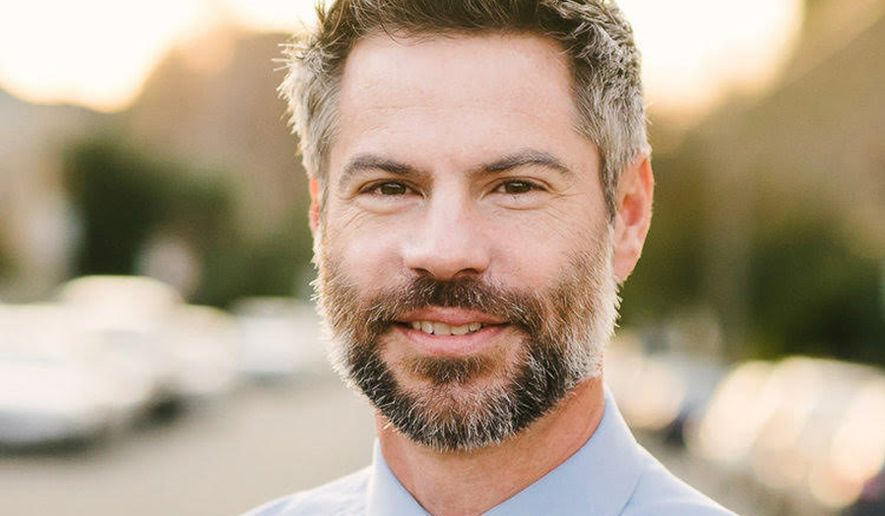 """Environmentalist Michael Shellenberger launched his new book, """"Apocalypse Never: Why Environmental Alarmism Hurts Us All"""" (HarperCollins), on Tuesday (Photo courtesy of Michael Shellenberger)."""