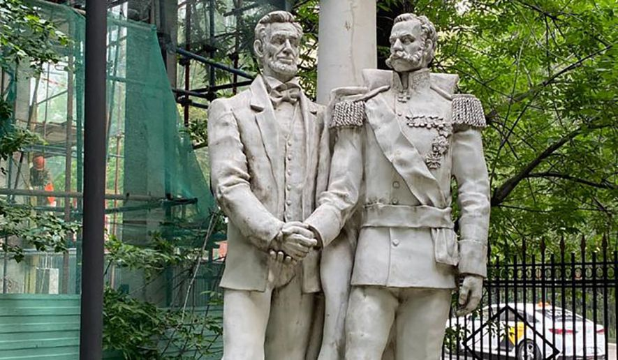 President Abraham Lincoln and Russian Tsar Alexander II. (Sponsored)