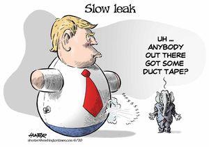 Slow leak