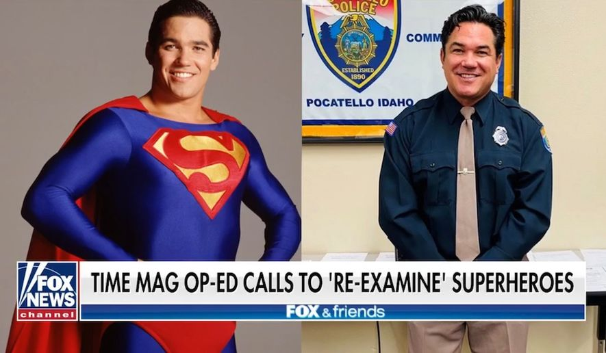 "Actor Dean Cain talks about cancel culture on ""Fox & Friends,"" July 2, 2020. (Image: Fox News video screenshot)"