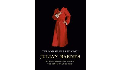 The Man in the Red Coat by Julian Barnes (book cover)