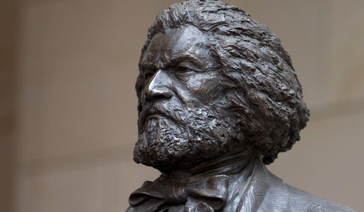 Vandals deface Frederick Douglass statue in New York