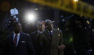 FILE - In this Feb. 2, 2016, file photo, Bill Cosby waves to cheering fans as he leaves after a court appearance in Norristown, Pa. Cosby was convicted of sexual assault in 2018. He is serving up to 10 years in prison. Now in the midst of another historic reckoning, this time addressing the treatment of African Americans and other people of color by police and the criminal justice system, the 82-year-old Cosby has won the right to an appeal. (AP Photo/Mel Evans)