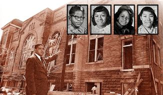 1963 Birmingham Church Bombing/The Washington Times
