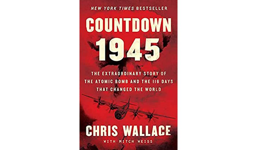 Countdown 1945 by Chris Wallace (book cover)