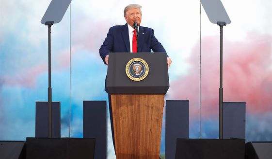 A new book by columnist Kurt Schlichter has identified the top 21 repeat lies media and critics tell about President Trump. (Associated Press)