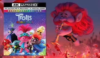 "Smooth Jazz Troll Chaz from ""Trolls World Tour: Dance Party Edition,"" now available on 4K Ultra HD from Universal Studios Home Entertainment."