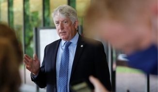 Virginia Attorney General Mark Herring said he anticipates other charges will result from rape kit tests performed by the commonwealth. A backlog since 2015 of nearly 3,000 kits has been eliminated. (ASSOCIATED PRESS)