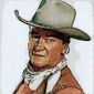 John Wayne Portrait by Greg Groesch/The Washington Times