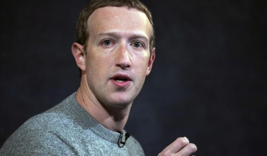 In this Oct. 25, 2019, file photo, Facebook CEO Mark Zuckerberg speaks at the Paley Center in New York.  On July 8, 2020, an external civil rights audit published Wednesday by Facebook faulted the company for not cracking down on President Trump and calls for more aggressive enforcement against him. (AP Photo/Mark Lennihan)