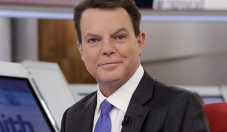 """FILE - This Jan. 30, 2017 photo shows Shepard Smith on The Fox News Deck before his """"Shepard Smith Reporting"""" program, in New York. CNBC said Thursday that Smith will join the network to host a weeknight news program airing at 7 p.m. Eastern. Smith abruptly quit Fox last fall after being at that network since its start.  (AP Photo/Richard Drew, File)"""