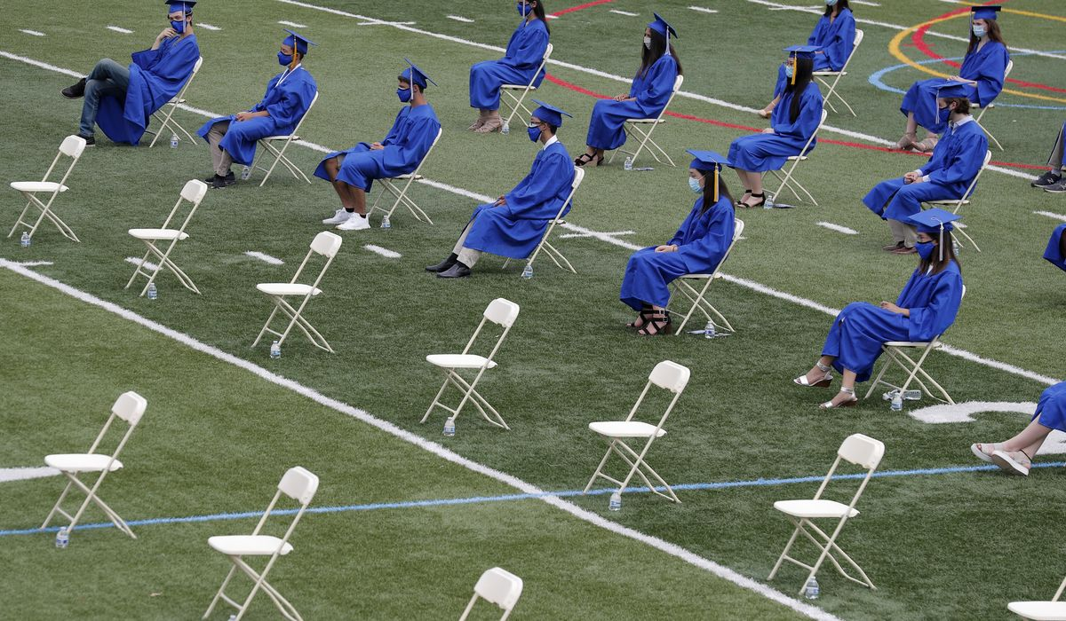 No group photos, hanging out with friends; Montgomery County proposes health rules for graduation