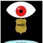 Illustration on boards overseeing the police by Alexander Hunter/The Washington Times