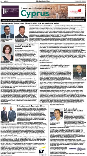 Download the Sponsored Special Report produced by Mercury Global Reports, available in the July 10, 2019 edition of The Washington Times.