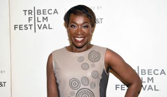 "In this April 20, 2018, file photo, Joy Reid attends the Tribeca TV screening of ""Rest in Power: The Trayvon Martin Story"" during the 2018 Tribeca Film Festival in New York. MSNBC has picked Reid to fill the 7 p.m. hour that was vacated by longtime host Chris Matthews in early March. (Photo by Evan Agostini/Invision/AP, File)"