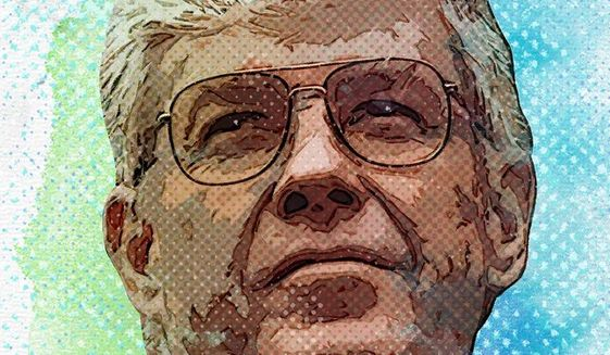 Jack Kemp Portrait by Greg Groesch/The Washington Times