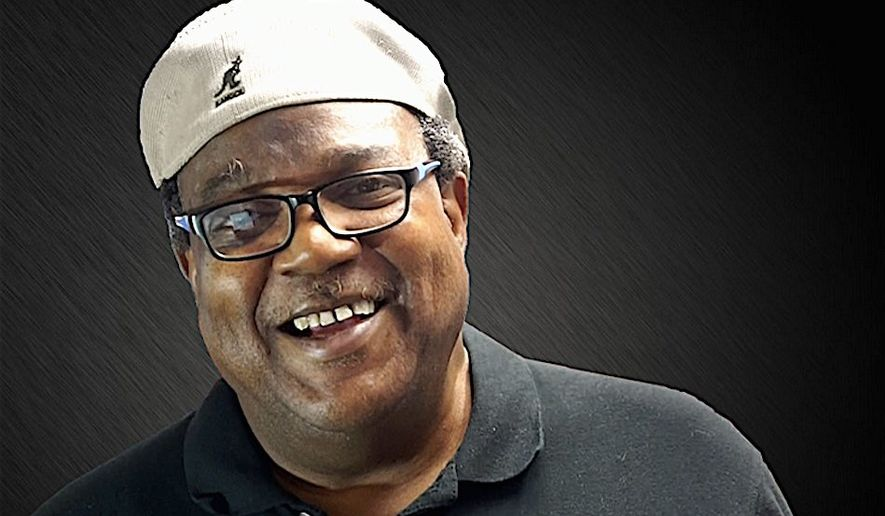 """""""Bo Snerdley"""" — whose real name is James Golden — is producer of Rush Limbaugh's daily talk radio show. He has established New Journey, a PAC to help black conservatives running for office. (Image courtesy of MAGA.BLACK)"""
