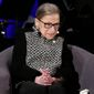 A justice reporter said that Democrats should discuss Justices Ruth Bader Ginsburg and Stephen G. Breyer on the campaign trail because both could leave the court. (Associated Press photographs)