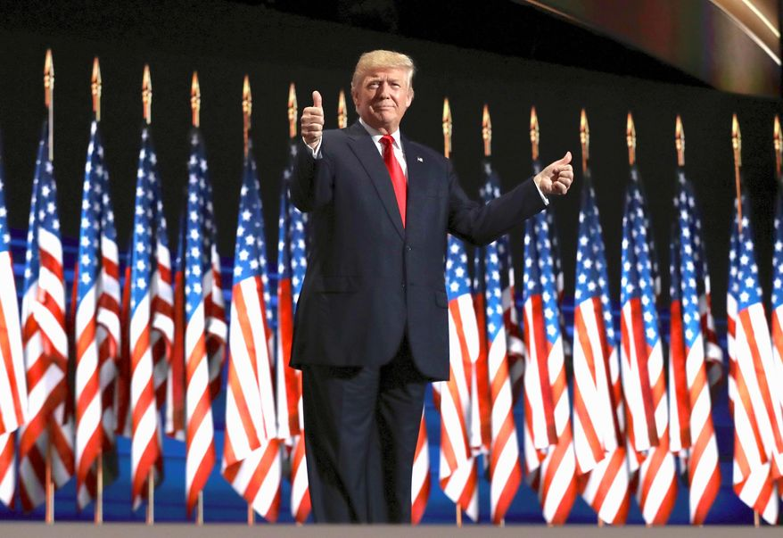 "President Trump is currently behind in the polls, but he has plenty of time to regain his ""mojo"" before the general election in November. (Associated Press)"