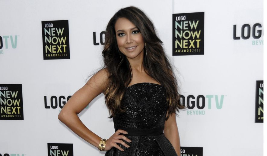 In this April 13, 2013, file photo, actress Naya Rivera arrives at Logo's NewNowNext Awards in Los Angeles.  (Photo by Dan Steinberg/Invision/AP, File)