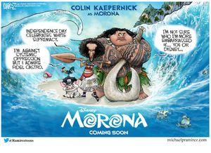 Colin Kaepernick in Morona