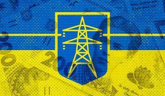 Ukraine Power Grid Illustration by Greg Groesch/The Washington Times