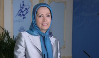 National Council of Resistance of Iran acting president Maryam Rajavi