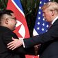 A third meeting between President Trump and North Korean leader Kim Jong-un  could be a boost to the president's reelection campaign. (Associated Press)