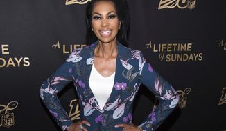 "Harris Faulkner attends a screening of ""A Lifetime of Sundays"" at The Paley Center for Media in New York on  Sept. 18, 2019. (Photo by Charles Sykes/Invision/AP, File) ** FILE **"