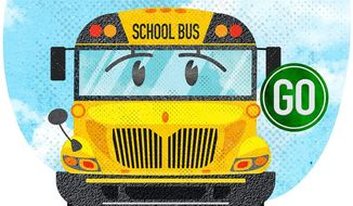 Heading Back to School Illustration by Greg Groesch/The Washington Times