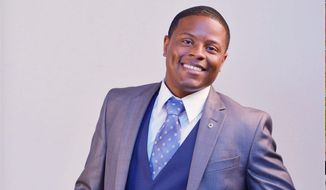 Black conservative Republican Joe E. Collins III is challenging Democratic Rep. Maxine Waters in California's 43rd district. (Courtesy of Joe Collins for Congress)