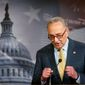 """Workers and families, not special interests, should be our main focus,"" Sen. Charles E. Schumer said in a letter to his Democratic colleagues."