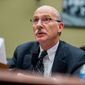 Washington, D.C. City Council Chairman Phil Mendelson testifies on Capitol Hill in Washington, Thursday, May 12, 2016, before a House Oversight Government Operations subcommittee hearing on whether the District of Columbia government truly has the power to spend local tax dollars without approval by Congress. (AP Photo/Andrew Harnik)  **FILE**