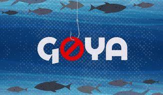 Goya Foods Boycott Illustration by Greg Groesch/The Washington Times