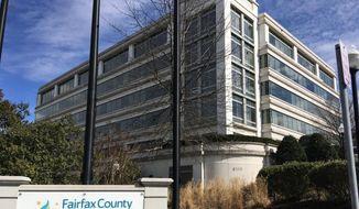 This March 4, 2019 file photo shows Fairfax County Public Schools in Merrifield, Va. (AP Photo/Matthew Barakat, File)  **FILE**