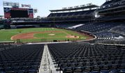 An overall view of  Nationals Park during the Washington Nationals baseball practice, Wednesday, July 22, 2020, in Washington. (AP Photo/Nick Wass) (Associated Press) **FILE**