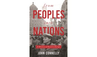 From Peoples Into Nations  by John Connelly (book cover)