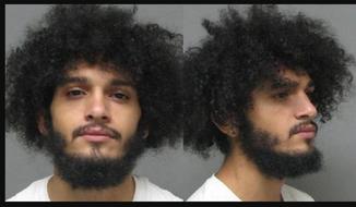 Mugshot of Isaiah Jackson. (Clark County Sheriff's Office)