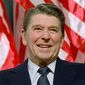 A statue honoring Ronald Reagan was vandalized on July 14 in Dixon, Illinois. It is one of 183 damaged or toppled following social unrest. (Associated Press)