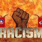 Fires of Racism Illustration by Greg Groesch/The Washington Times