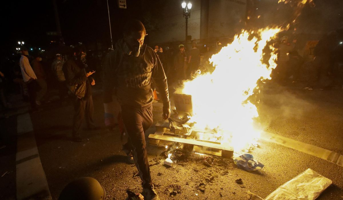 Riot declared in Portland, Oregon