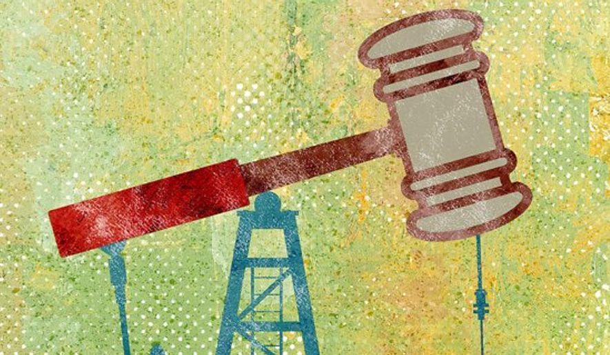 Power Play Gavel Illustration by Greg Groesch/The Washington Times
