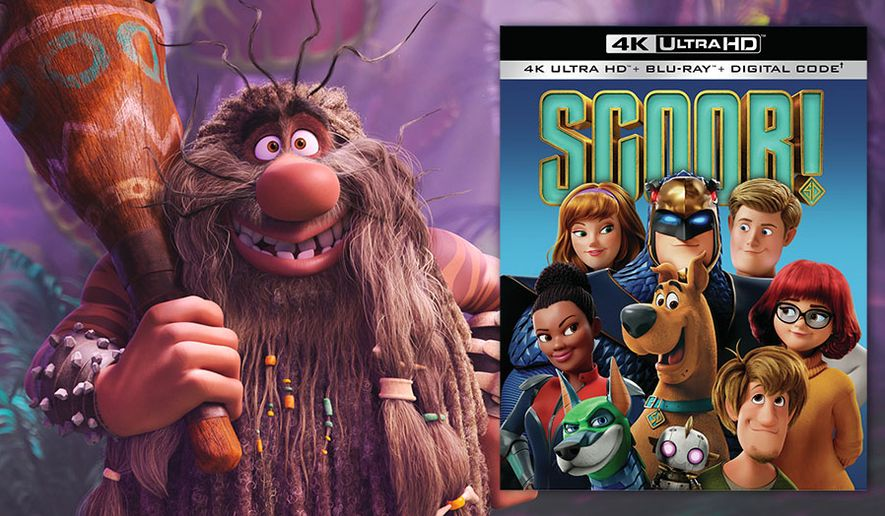 """The legendary Captain Caveman appears in """"Scoob!,"""" now available on 4K Ultra HD from Warner Bros. Home Entertainment."""