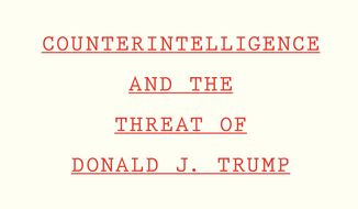 """This cover image released by Houghton Mifflin Harcourt Books & Media shows """"Compromised Counterintelligence and the Threat of Donald J. Trump"""" by Peter Strzok. (Houghton Mifflin Harcourt Books & Media via AP)"""