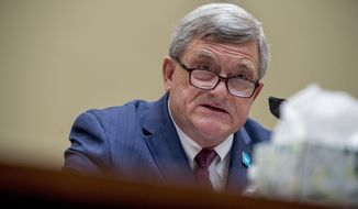 Census Bureau Director Steven Dillingham testifies before a House Committee on Oversight and Reform hearing on the 2020 Census on Capitol Hill, Wednesday, July 29, 2020, in Washington. (AP Photo/Andrew Harnik)