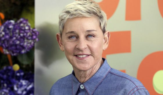 "Ellen DeGeneres attends the premiere of Netflix's ""Green Eggs and Ham,"" on Nov. 3, 2019, in Los Angeles. DeGeneres apologized to the staff of her daytime TV talk show amid an internal company investigation of complaints of a difficult and unfair workplace. (Photo by Mark Von Holden /Invision/AP, File)"