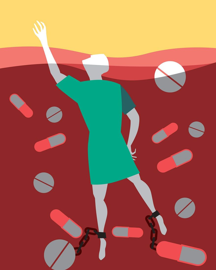 How price controls rob patients of future therapies illustration by The Washington Times
