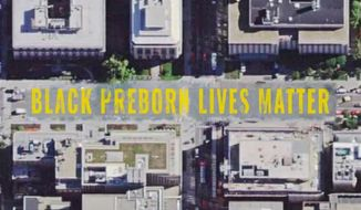 """Pro-life groups led by Students for Life of America and the Frederick Douglass Foundation are scheduled at 10 a.m. Saturday to paint """"Black Preborn Lives Matter"""" in front of the Planned Parenthood clinic on the 1200 block of 4th Street NE. (Students for Life of America/draft image)"""