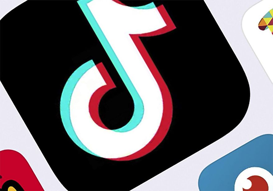 This Feb. 25, 2020, file photo, shows the icon for TikTok in New York. (AP Photo/File)
