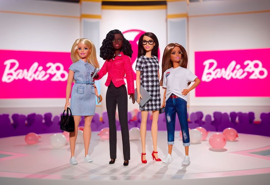 Barbie has confirmed she's not affiliated with any political party after Donald Trump Jr. joked she was a Democrat on Wednesday, July 29, 2020. (Mattel)